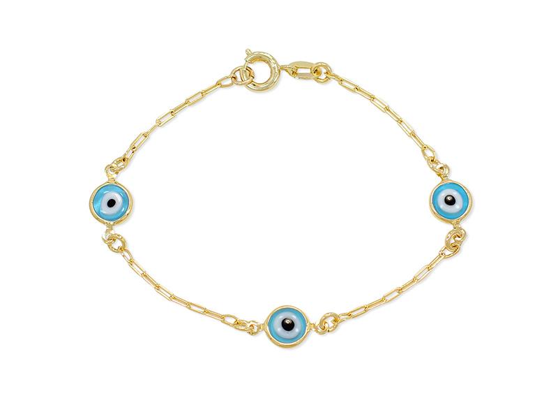 baby evil eye bracelet