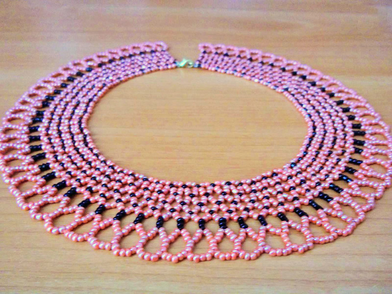 beaded necklaces patterns