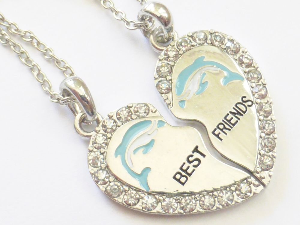 best friend necklaces for 2