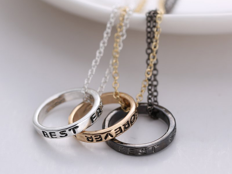 best friend necklaces for 3