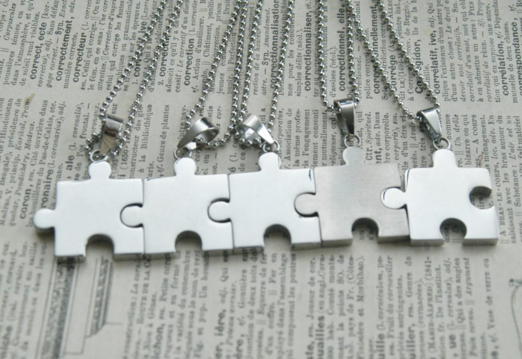 best friend necklaces for 5