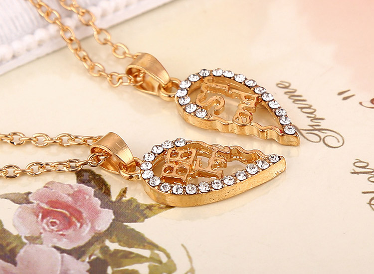 best friend necklaces for women