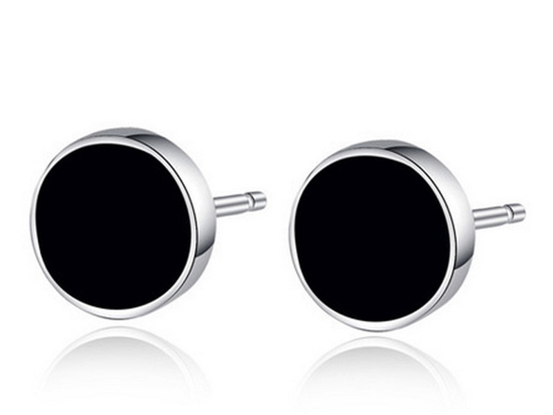 black diamond earrings for men