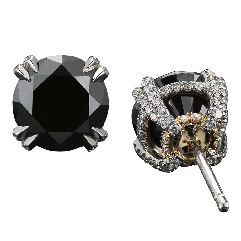 black diamond earrings for women