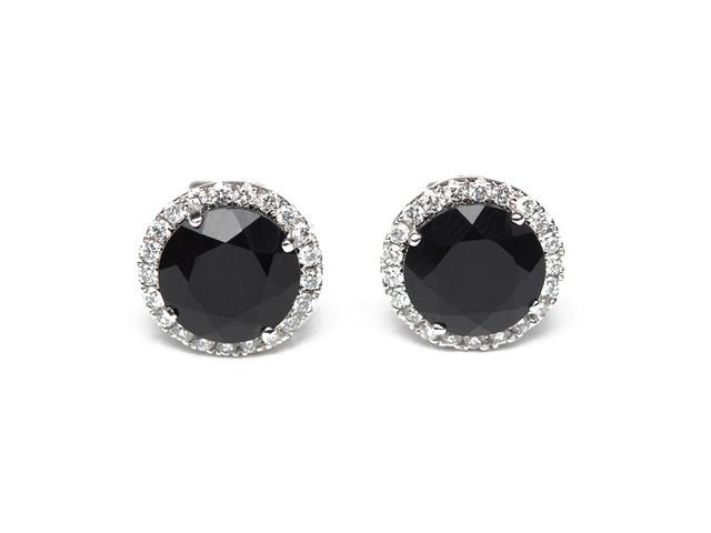 Black Diamond Earrings Men S
