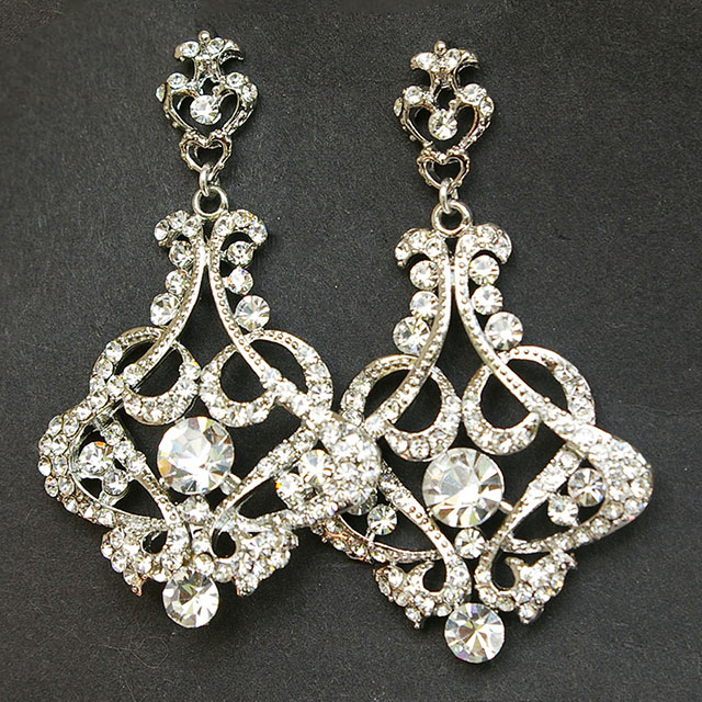 chandelier earrings wedding