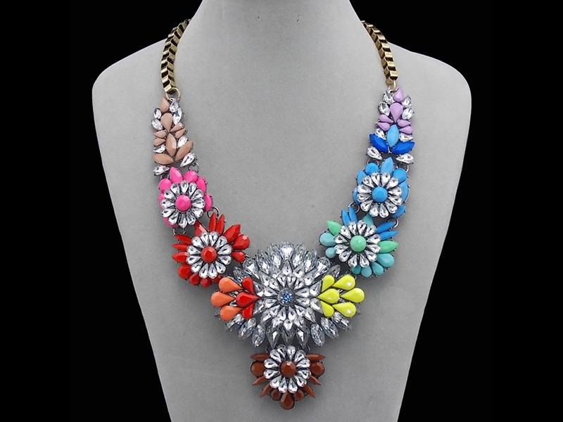 cheap chunky necklaces