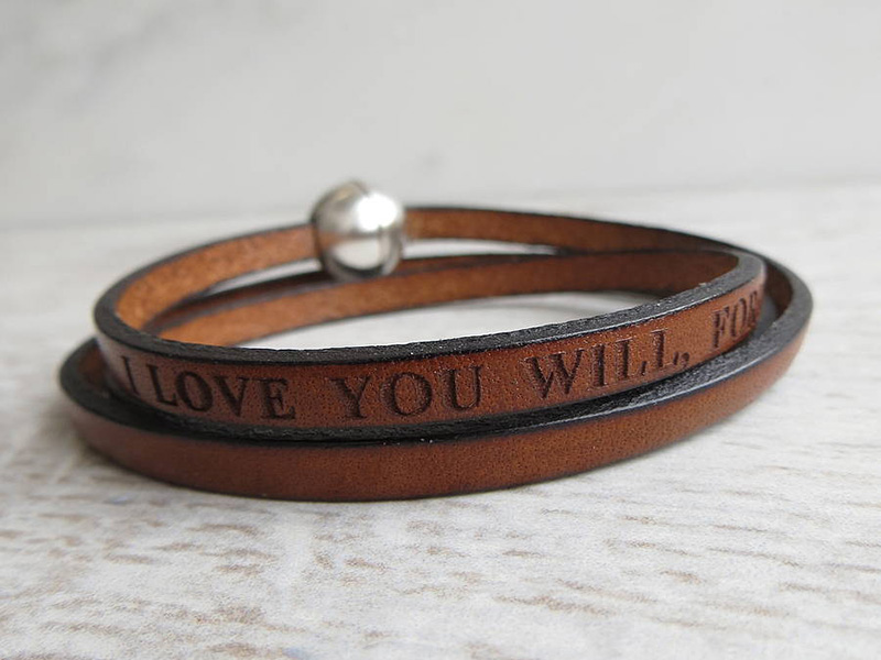 cheap men's leather bracelets