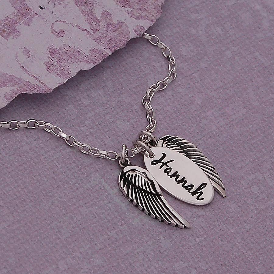 cheap name necklaces