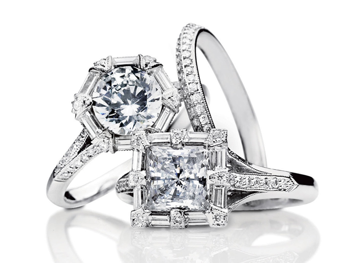 cheap tacori engagement rings