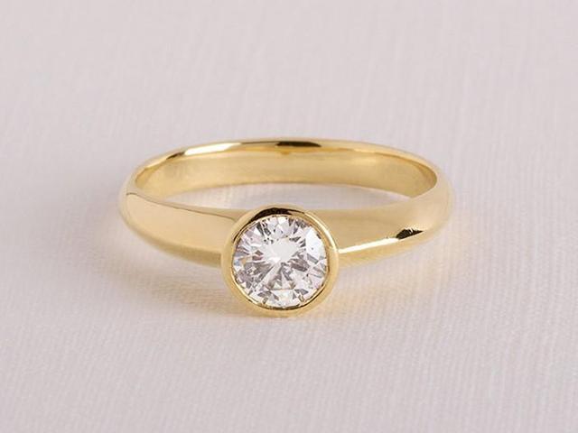 cheap unique engagement rings