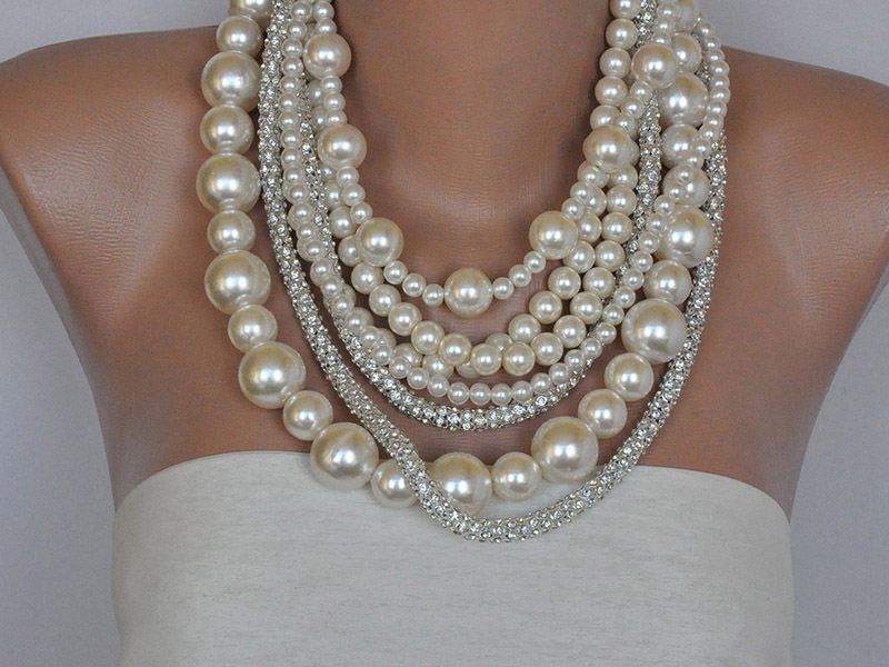 chunky necklaces for women