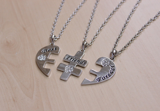 custom best friend necklaces
