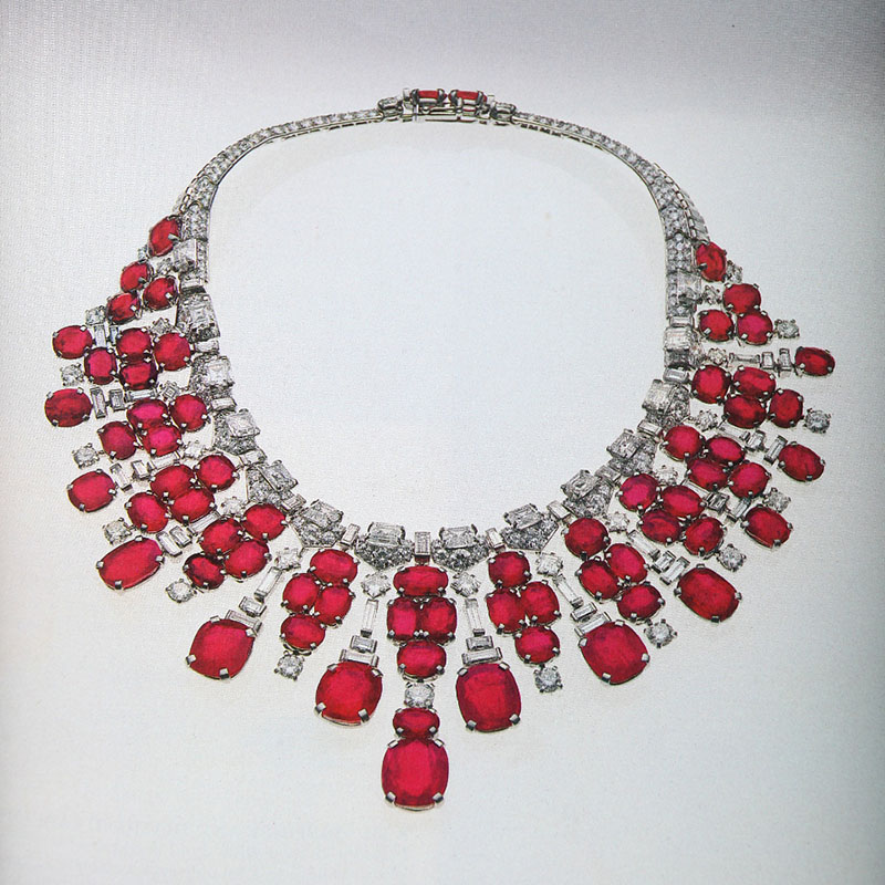 Genuine ruby necklace how to get the best ruby necklace jewelry diamond and ruby necklace mozeypictures Gallery