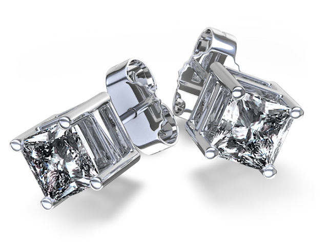 diamond men's earrings