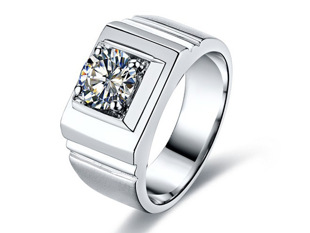 diamond men's wedding rings