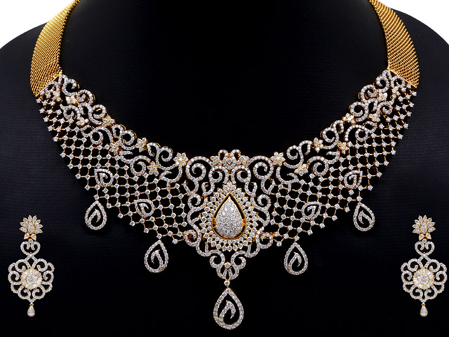 diamond necklaces designs