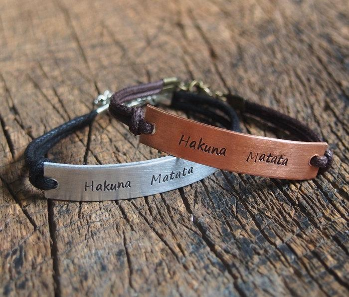 engraved bracelets for couples