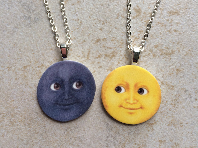 funny best friend necklaces