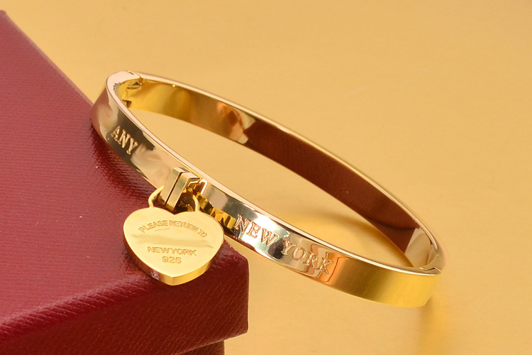 titanium with bangle clasp product jewelry kids rose circle k gold women bangles roman half wholesale numerals online ot steel bracelet chain