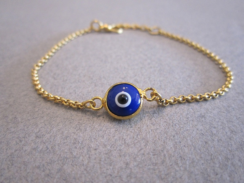gold evil eye bracelet the uniqueness of evil eye