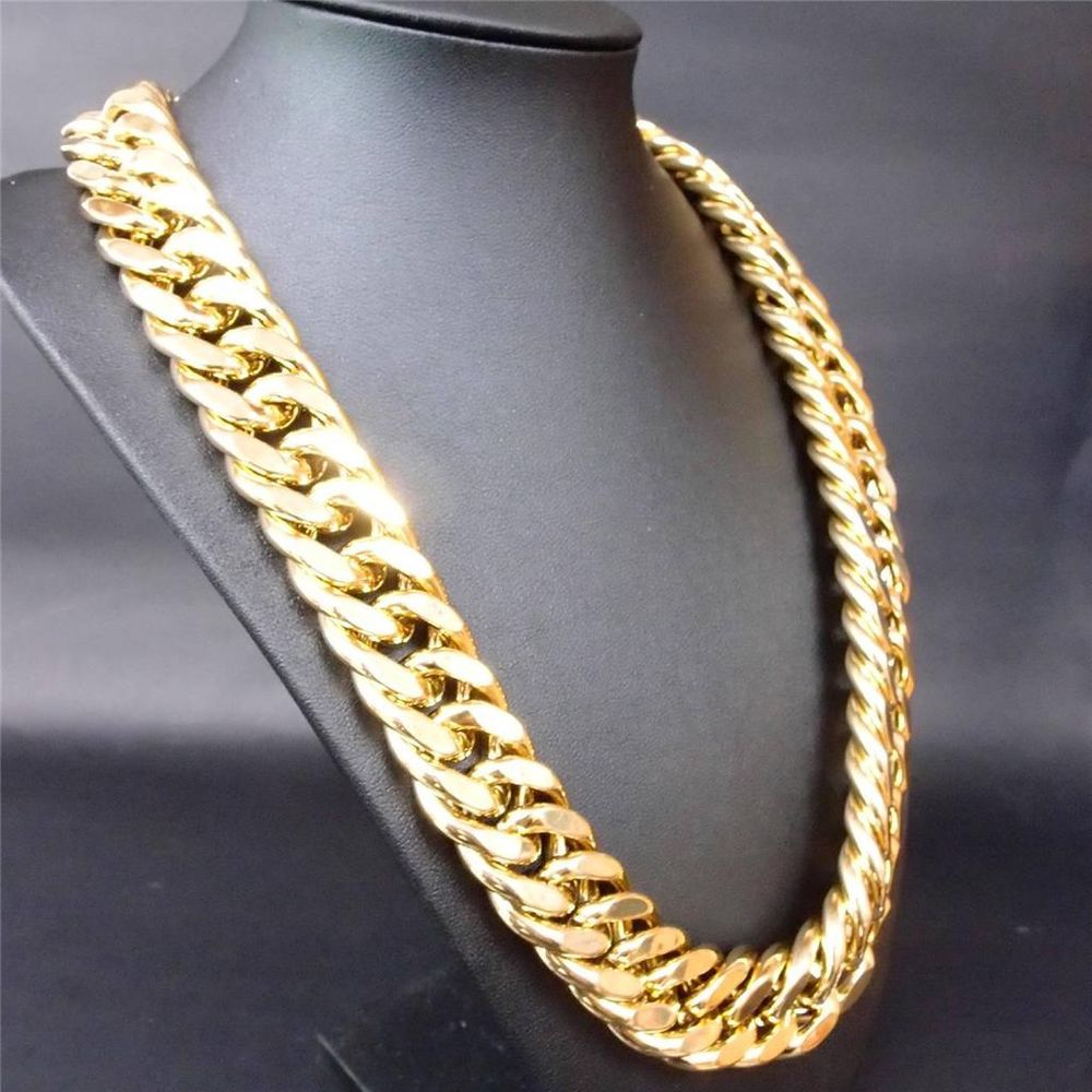 gold men's necklace