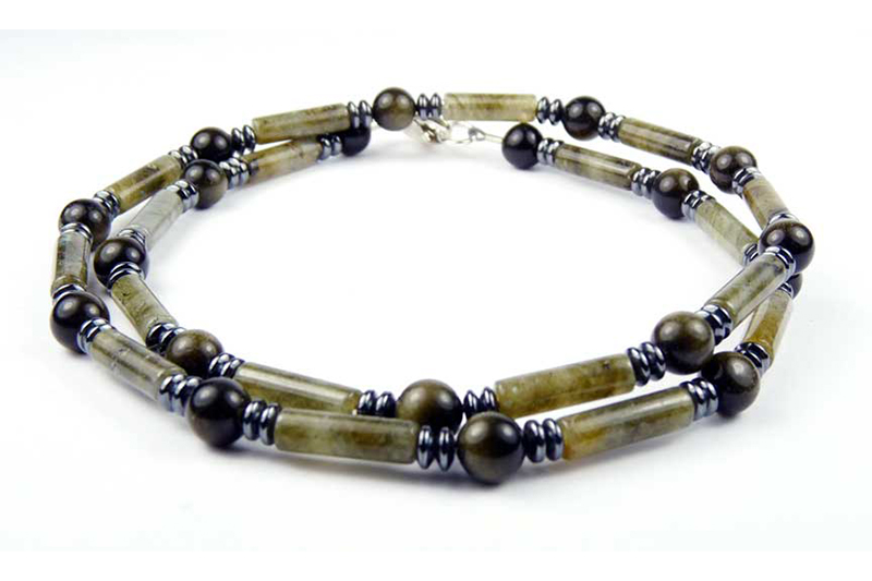 mens beaded necklaces
