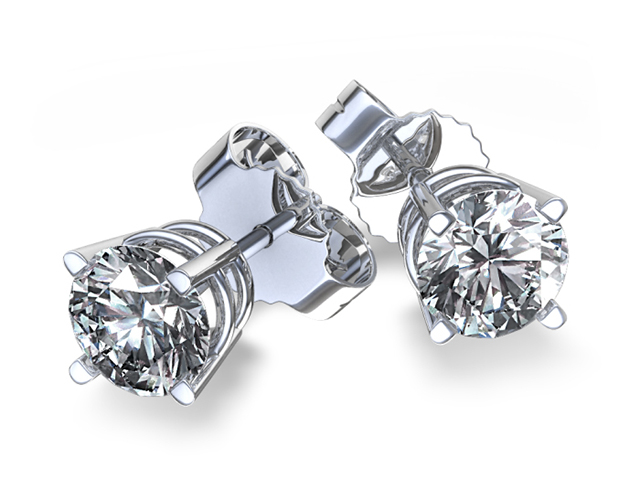 men's earrings diamond