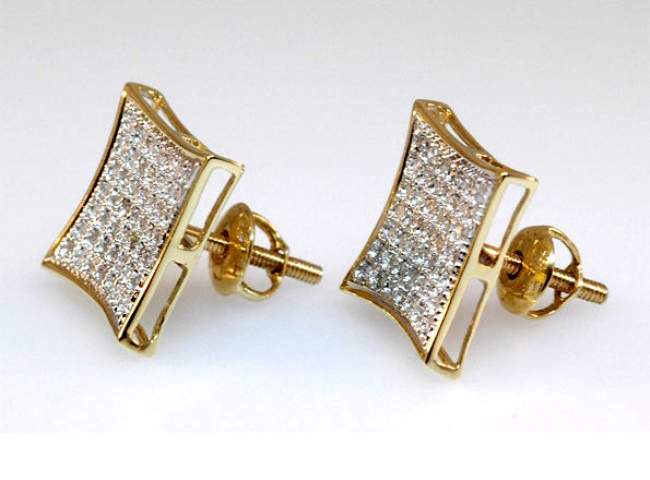 men's earrings gold