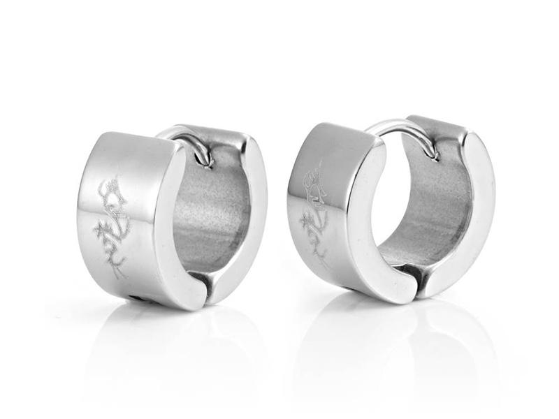 men's earrings hoops