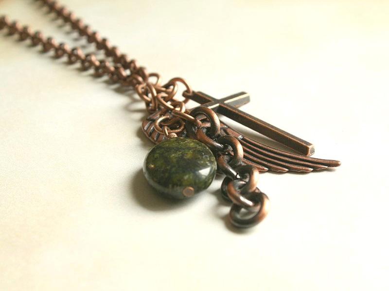 men's necklace charms