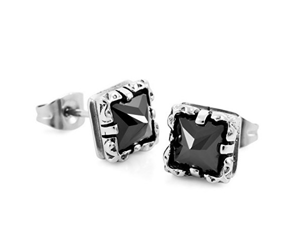 men's stud earrings