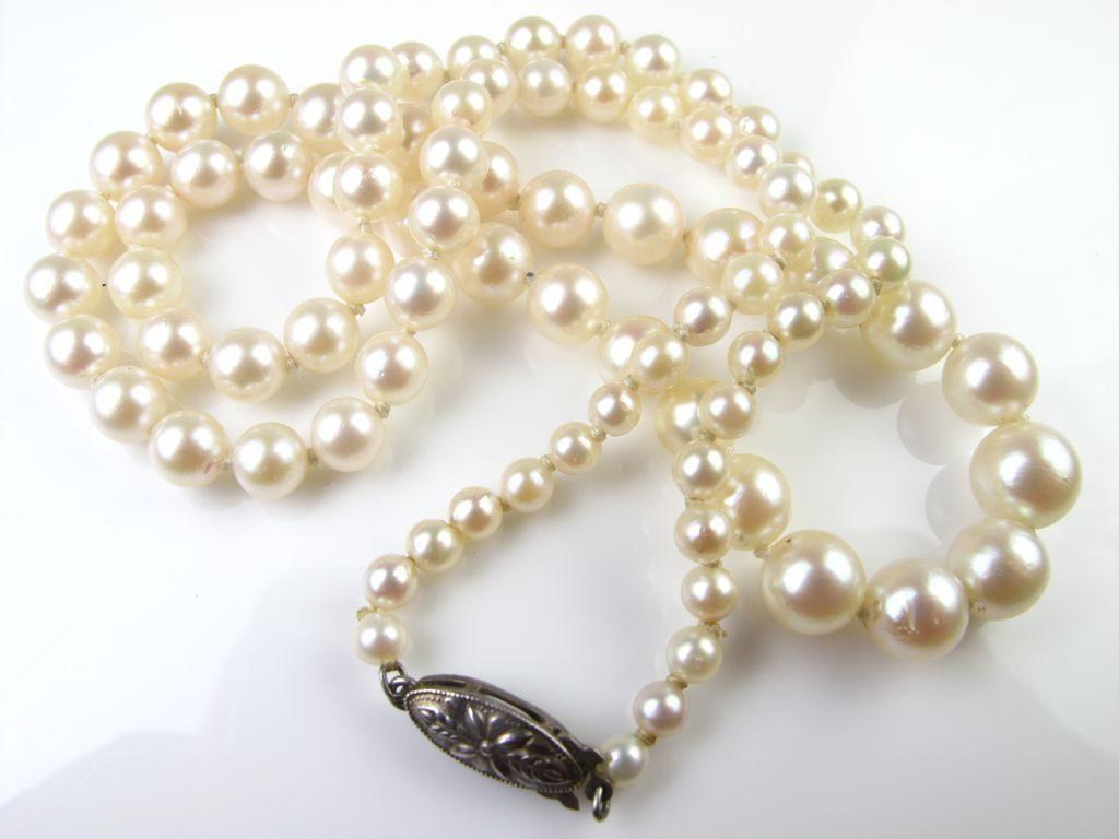 mikimoto pearl necklace