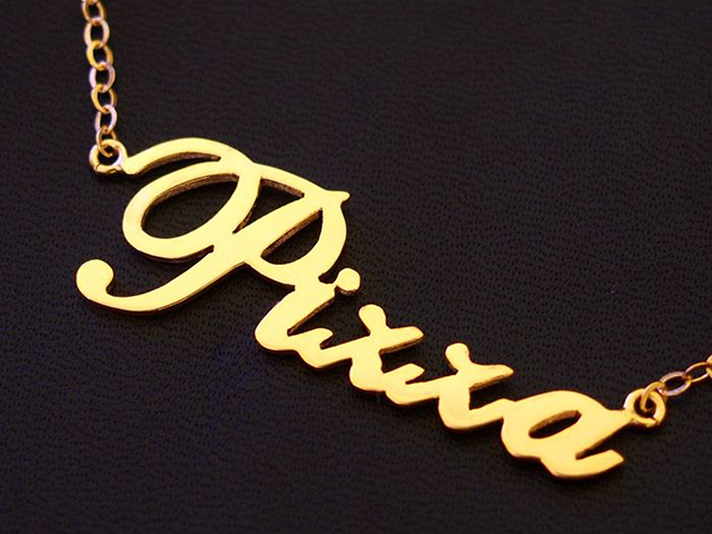 personalized gold name necklaces