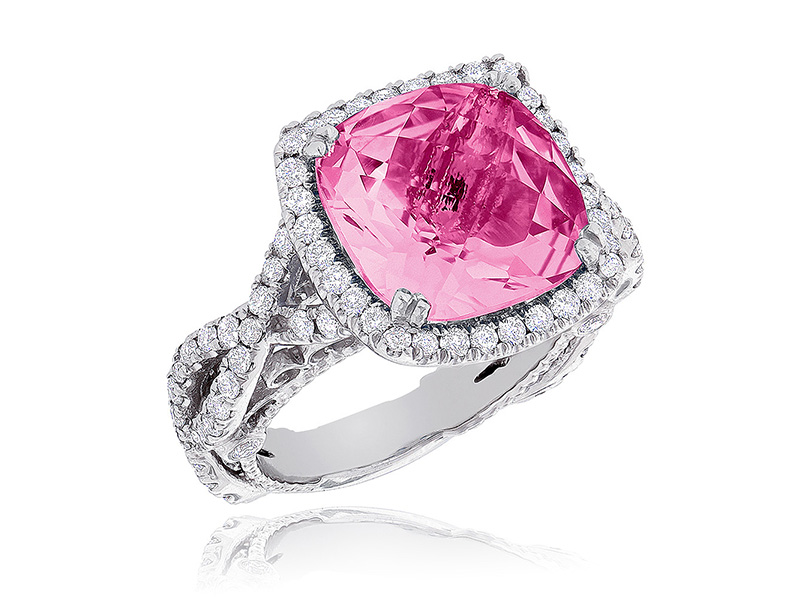 pink gemstone rings