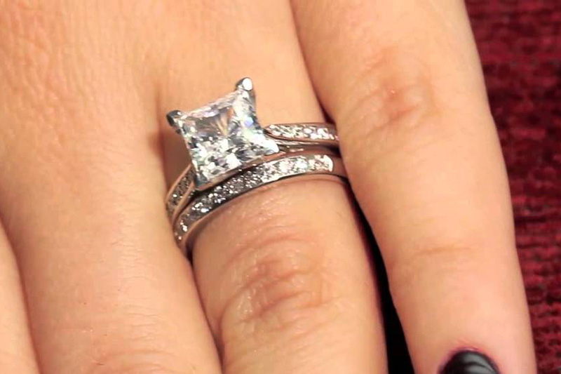 princess cut engagement rings 2 carat