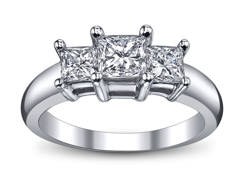 princess cut engagement rings cheap