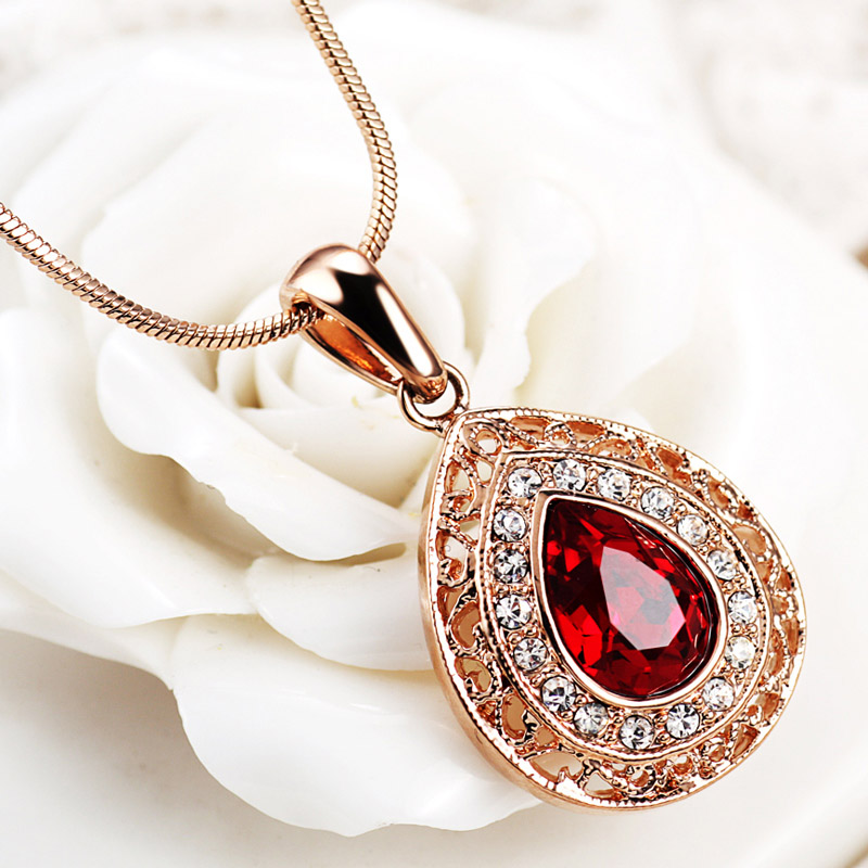 real ruby necklace