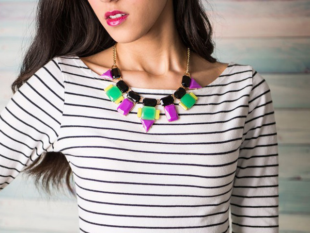 statement necklaces under 50