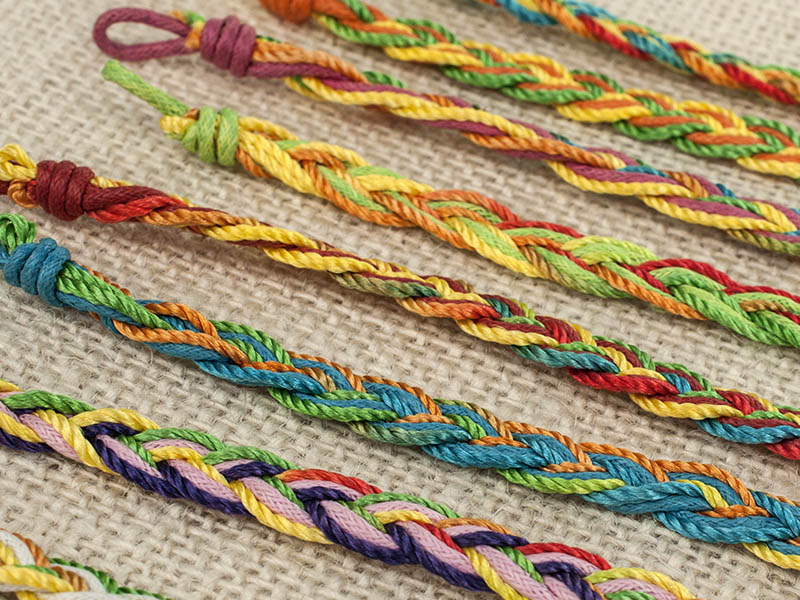 string friendship bracelets