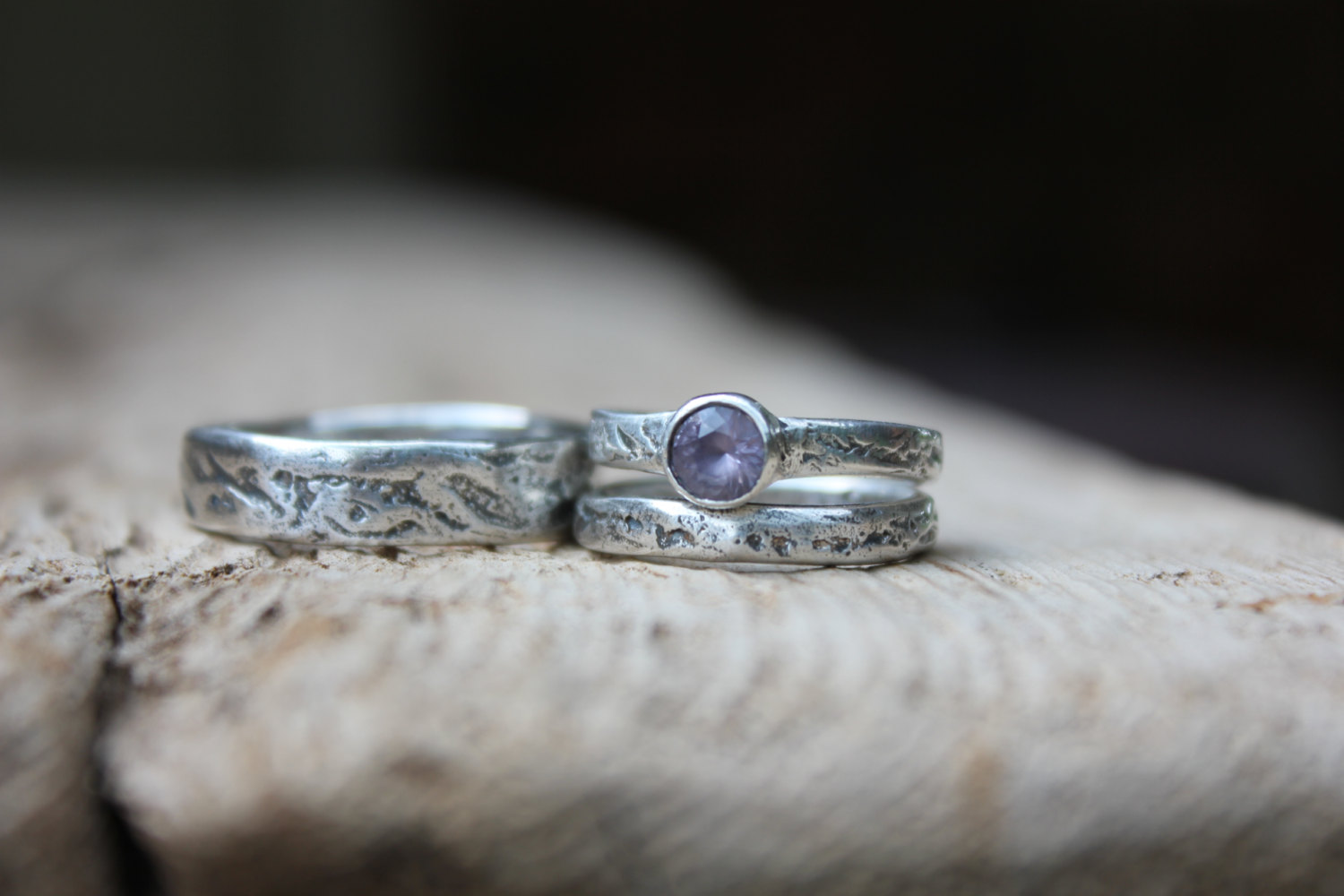 unique engagement ring sets