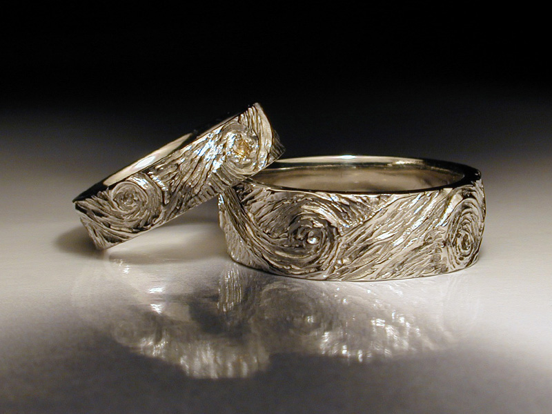 Choosing unique wedding rings for wedding party jewelry design blog unique wedding rings sets junglespirit Gallery