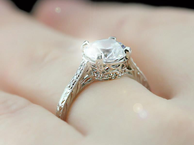 Vintage Antique Engagement Rings The