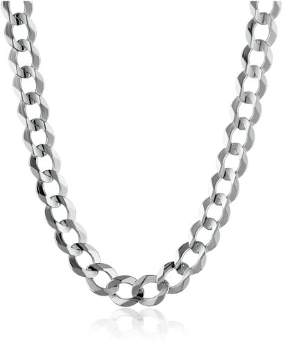 white gold necklace for men