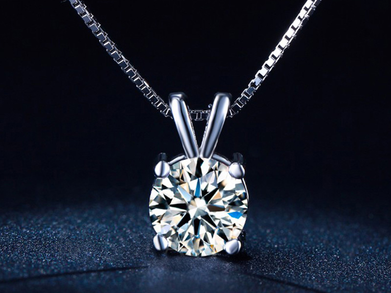 white gold necklace for women