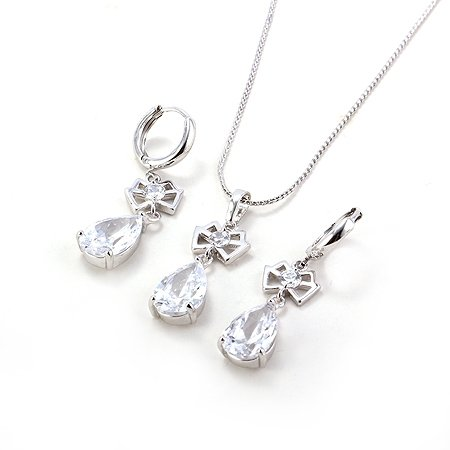 white gold necklaces for women