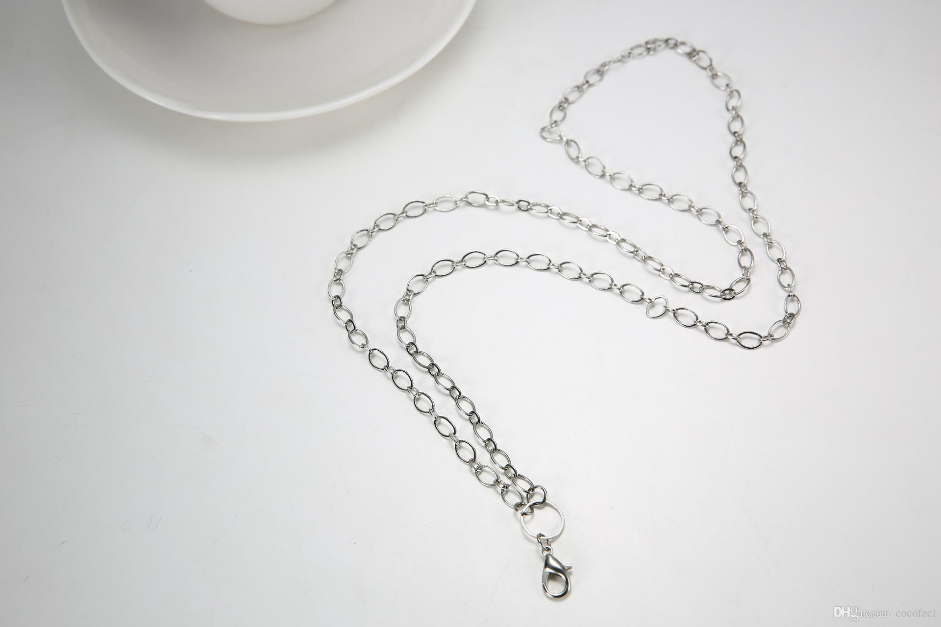 womens white gold necklace