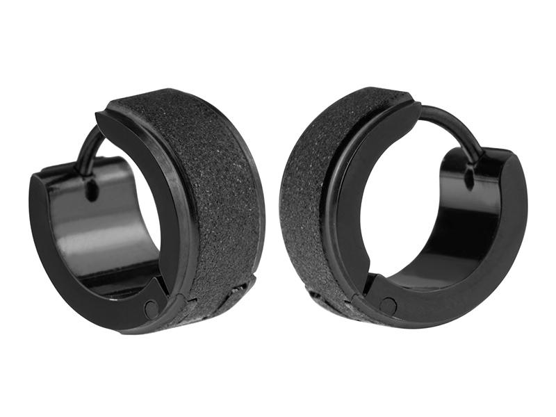 black men's earrings