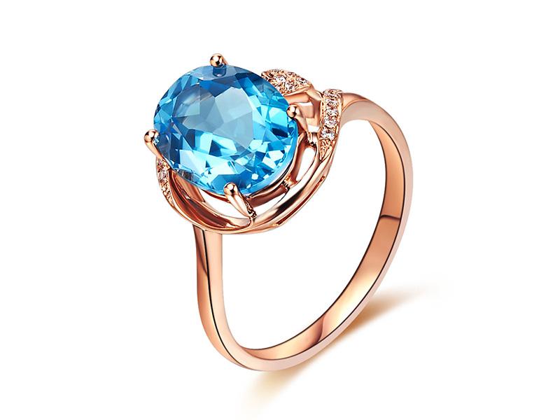 blue gemstone rings
