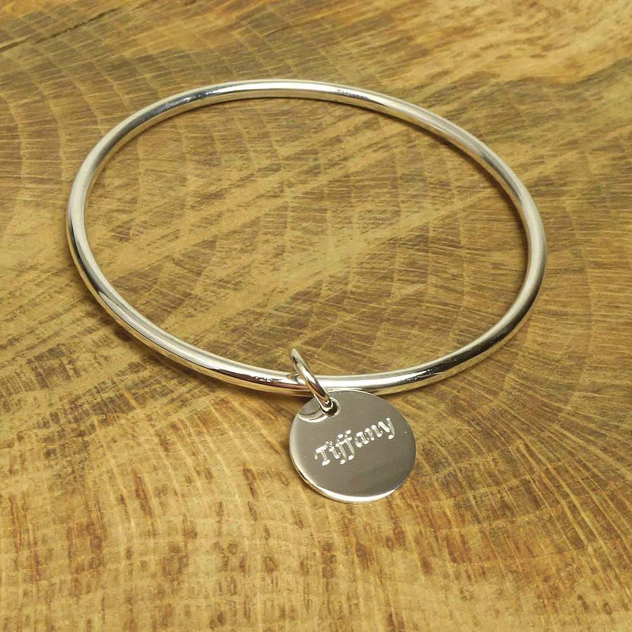 charm bangle bracelets